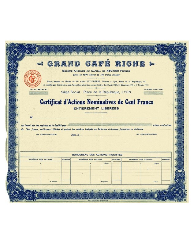 Grand Café Riche