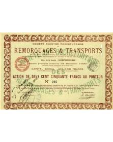 S.A. Rochefortaise des Remorquages & Transports