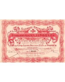 Entrepôt Général d'Alimentation & d'Approvisionnement Lucien Lépine & Cie