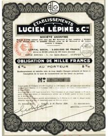 Ets Lucien Lépine & Cie