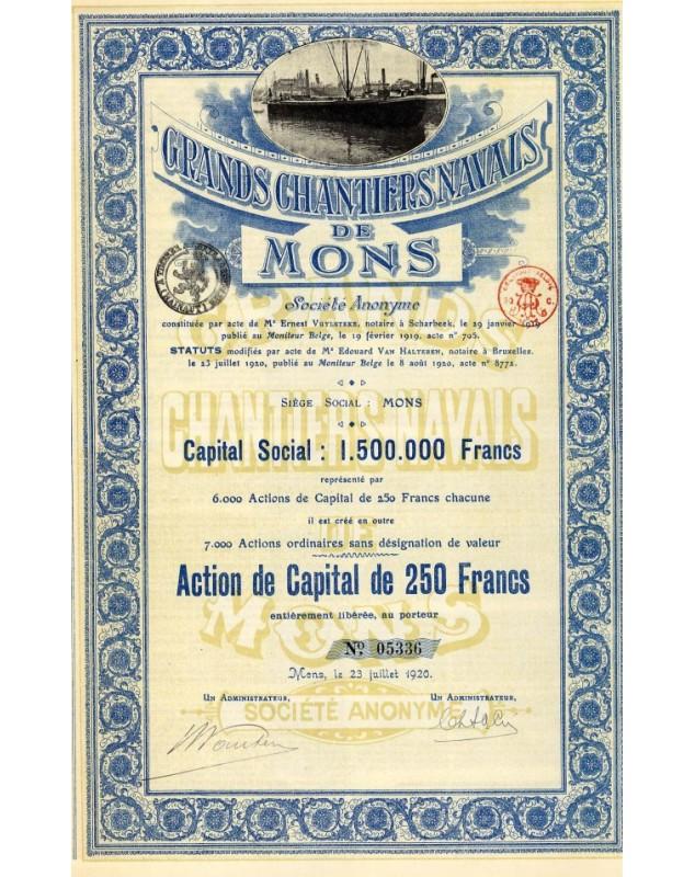 Grands Chantiers Navals de Mons