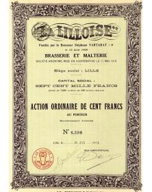 'La Lilloise'' Brasserie et de Malterie (Stéphane Tartarat)