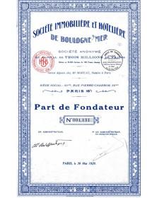 Sté Immobilère et Hôtelière de Boulogne-sur-Mer