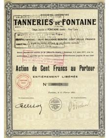 S.A. Tanneries de Fontaine