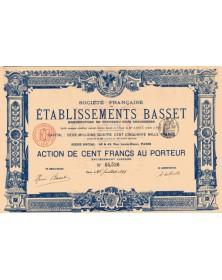 Ets Basset - Manufacture de Chevreau pour Chaussures