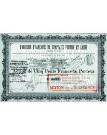 Fabrique Française de Chapeaux Feutre et Laine