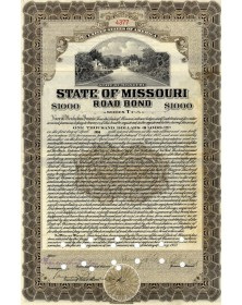 State of Missouri Road Bond
