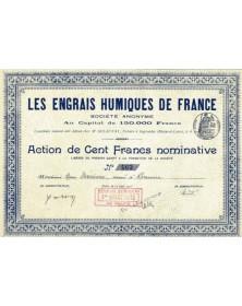Les Engrais Humiques de France