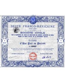 Dette Franco-Mexicaine 1864-1865
