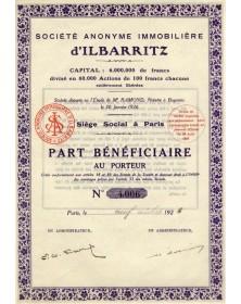 S.A. Immobilière d'Ilbarritz
