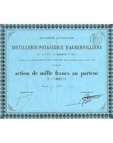 S.A. Distillerie-Potasserie d'Aubervilliers