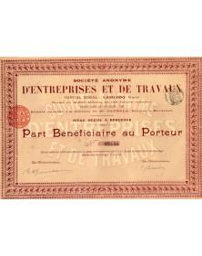 S.A. d'Entreprises et de Travaux