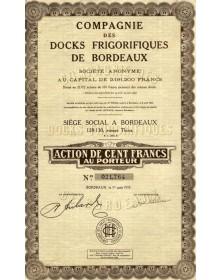 Cie des Docks Frigorifiques de Bordeaux