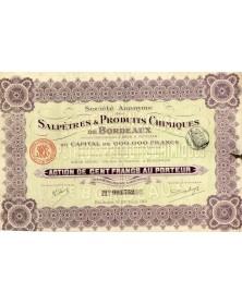 S.A. des Salpêtres et Produits Chimiques de Bordeaux