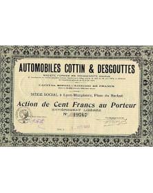 Automobiles Cottin & Desgouttes