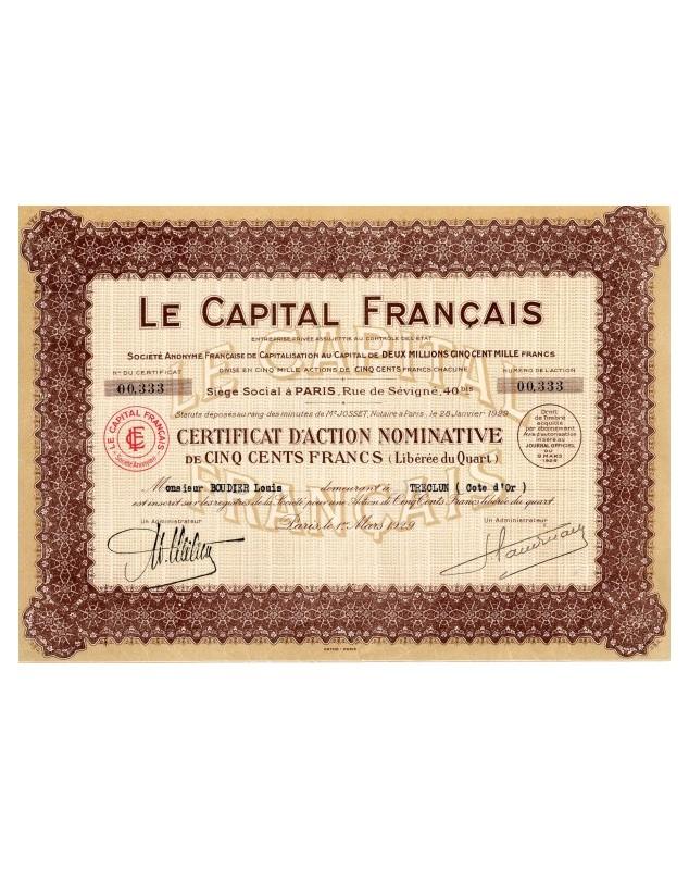 Le Capital Français