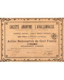 S.A. L'Avallonnaise