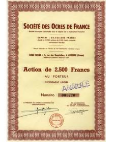 Sté des Ocres de France