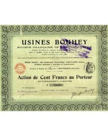 Usines Bouhey - Sté Française de Machines-Outils (Montzeron)