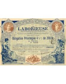 La Laborieuse, Assurance Mutuelle. Ch Crabbe