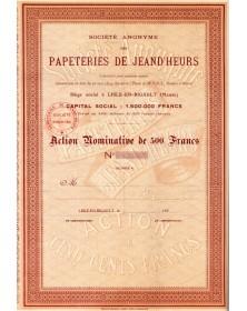 Papeteries de Jeand'Heurs Lisle-en-Rigault