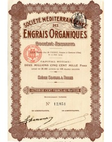 Sté Méditerranéenne des Engrais Organiques