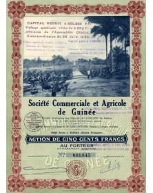 Sté Commerciale et Agricole de Guinée