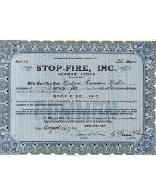 Stop-Fire, Inc.