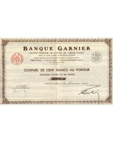 Banque Garnier