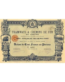 S.A. des Tramways & Chemins de Fer du Centre