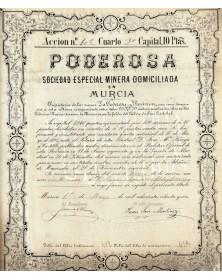 Poderosa - Sociedad Especila Minera en Murcia