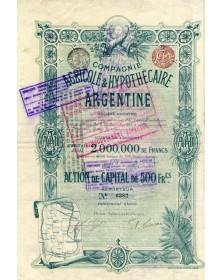 Cie Agricole & Hypothécaire Argentine