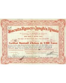 Biscuits Rameys & Langlès Réunis