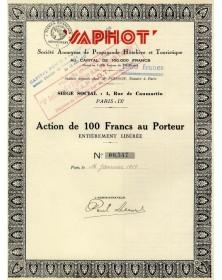 SAPHOT - S.A. de Propagande Hôtelière et Touristique