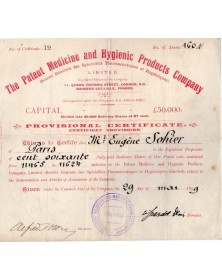 The Patent Medicine and Hygienic Products Co.