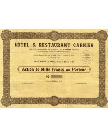 Hôtel & Restaurant Garnier