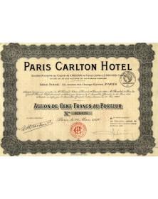 Paris Carlton Hotel