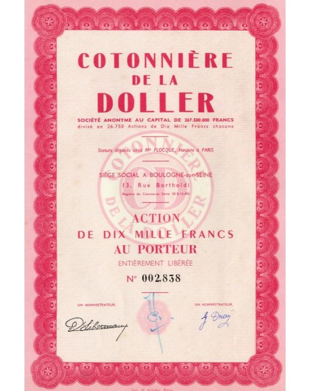 Cotonnière de la Doller