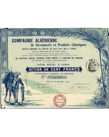Cie Algérienne de Savonnerie et de Produits Chimiques