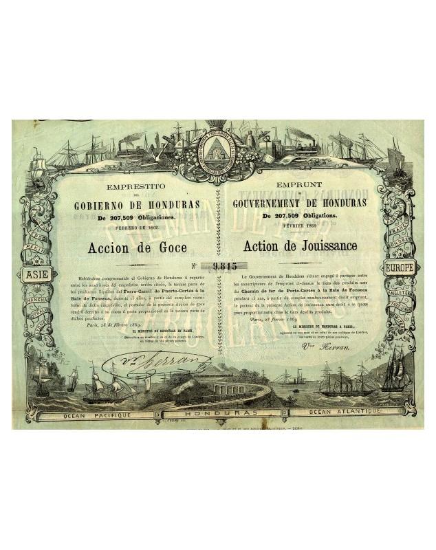 Emprunt du Gouvernement de Honduras