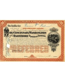 The Cincinnati, Washington and Baltimore Railroad Co.