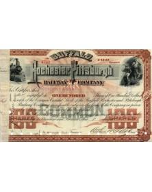 Buffalo, Rochester and Pittsburg Railroad Co.