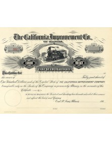 The California Improvement Co. of Illinois