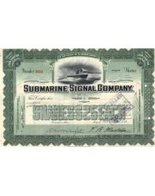 Submarine Signal Corp.