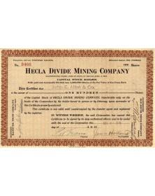 Hecla Divide Mining Co.