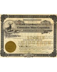 Commodore Mines Corp.