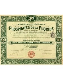 Cie Générale des Phosphates de la Floride
