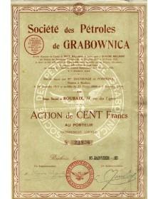 Sté des Pétroles de Grabownica