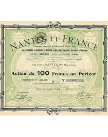 Nantes et France - Cie d'Assurances