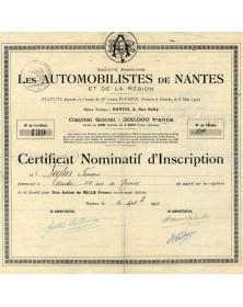 S.A. Les Automobilistes de Nantes et de la Région